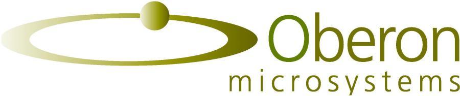Oberon microsystems Company Logo