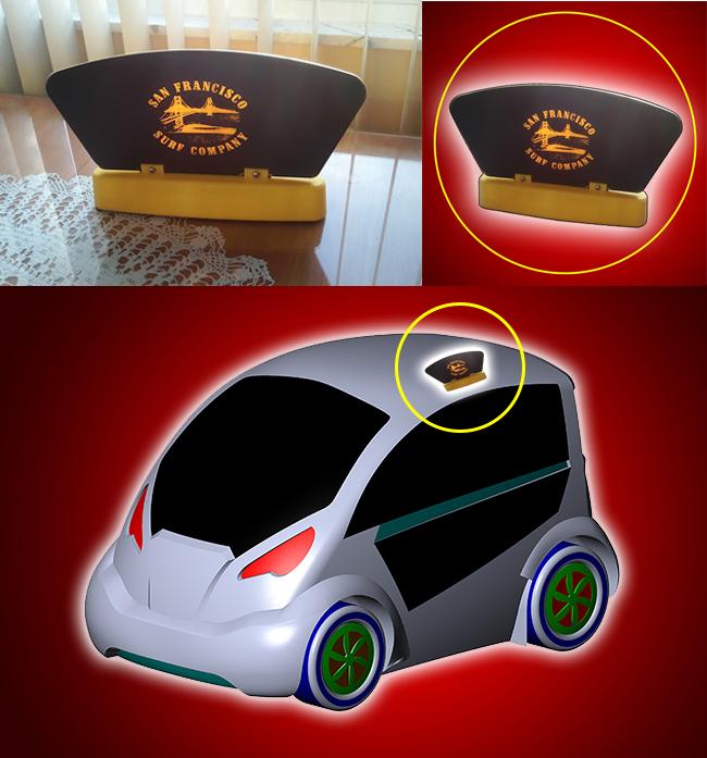 Car Board - Magnetic Car Automobile Signage System