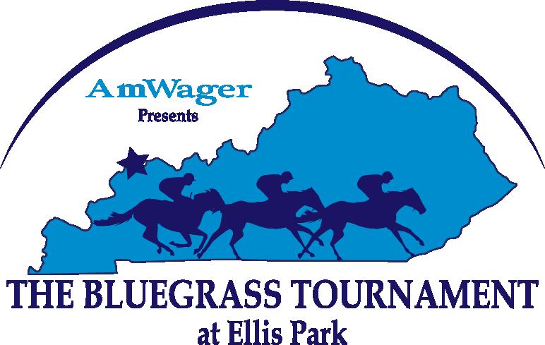 AmWager presents the Bluegrass Tournament at Ellis Park Logo