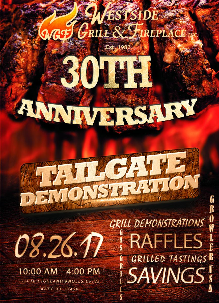 Westside Grill & Fireplace Tailgating Extravaganza to Feature Food ...