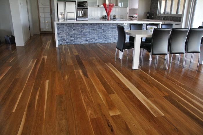 Spotted gum wood floors