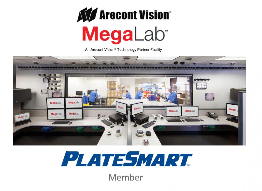 Arecont Vision Technology Partner Program PlateSmart MegaLab