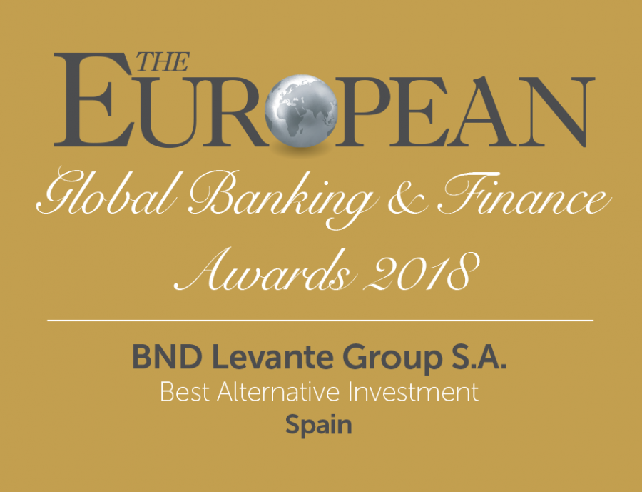 BND award logo from the Magazine The European