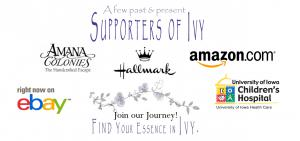 The vintage village of Ivy & Innocence and its wonderful storybooks that bring life to a special place in time.
