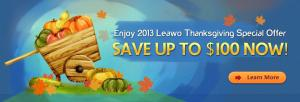 Leawo 2013 Thanksgiving Special Offer