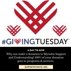 Myositis Support and Understanding celebrates #GivingTuesday