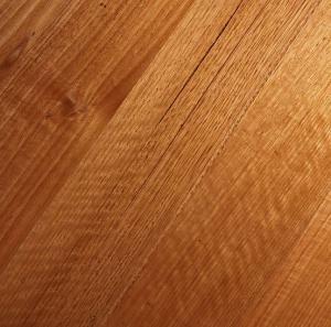 Hard wood floor raised grain or roughness