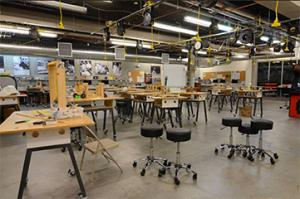 Makerspace built by Formaspace
