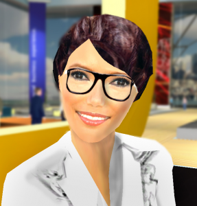 Virtual Booth Assistant Avatar Image