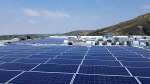 Ladera Sports Center Solar Panels