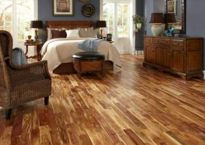 Bamboo wood floors
