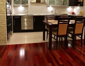 Brazilian Cherry hard wood floors