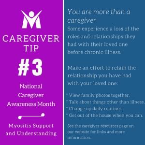 You are more than a caregiver