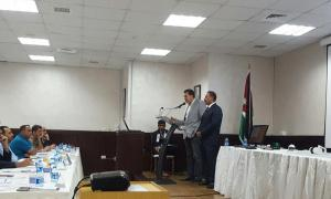 nextLiFi presentation at the Telecommunications Regulatory Commission in Jordan.