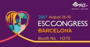 XYZlife will be at Booth H370 during ESC Congress 2017