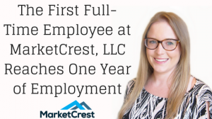 Rachel Thomas Marks One Year at MarketCrest Marketing Firm