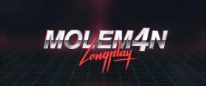 Moleman 4 - Longplay: logo