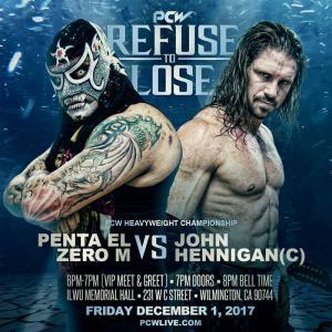 Penta El Zero M vs. John Hennigan