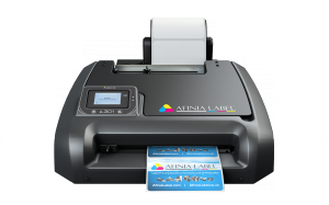 Front view of Afinia L301 label printer