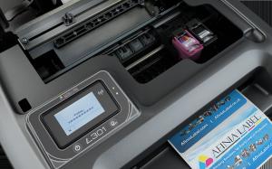 Top View Afinia L301 label printer