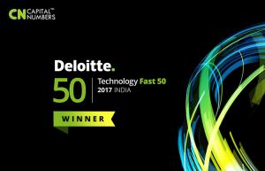 Winning the Deloitte Technology Fast 50 India 2017
