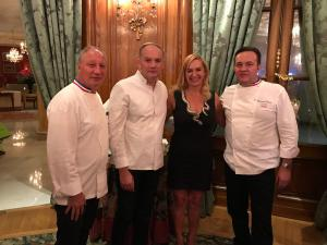 3 Chefs with 9 Michelin Stars