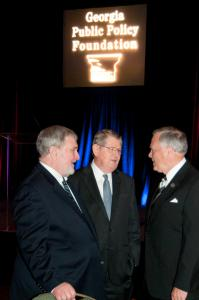 Photo of Rogers Wade and Governor Nathan Deal