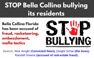 Don Karl Juravin fights against Bella Collina is bullying its residents