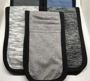 Different colors and sizes of MyPhonePouch