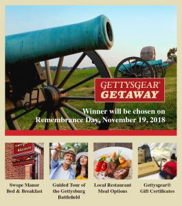 Gettysburg offers hundreds of choices in great food and shopping .