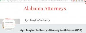 News about Ayn Traylor Sadberry at Hype News