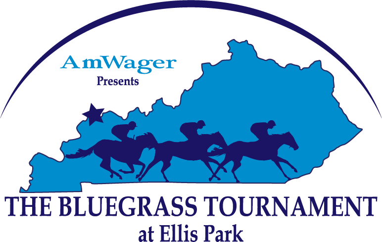 AmWager presents the Bluegrass Tournament at Ellis Park Logo