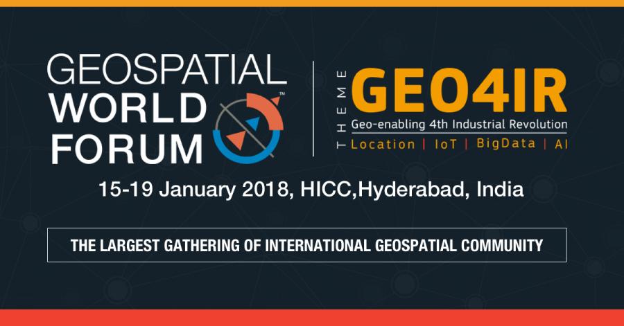 Geospatial World Forum 2018