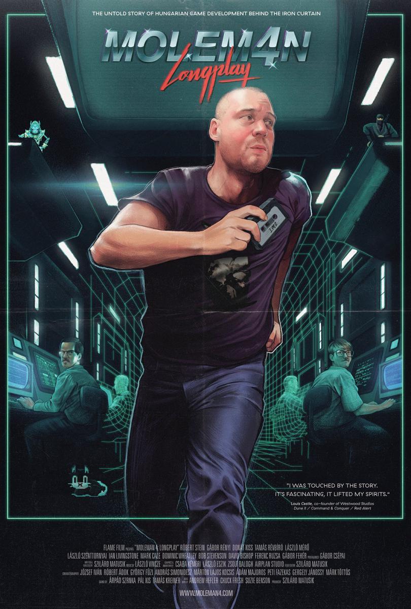 Moleman 4 - Longplay: film poster