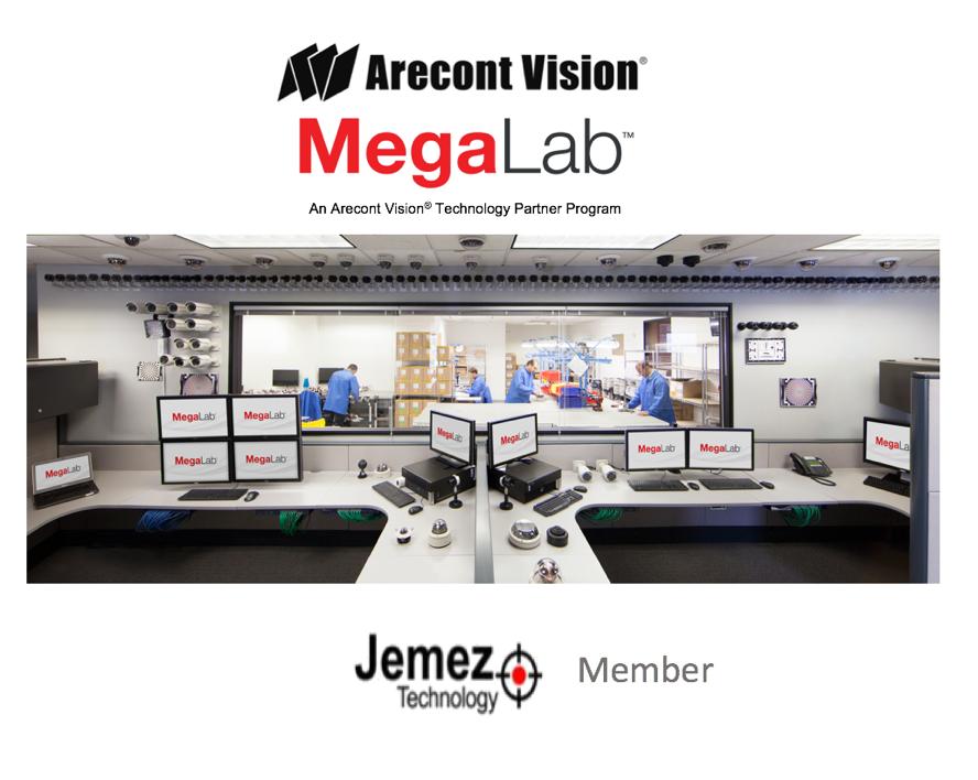 Arecont Vision MegaLab Adds Jemez