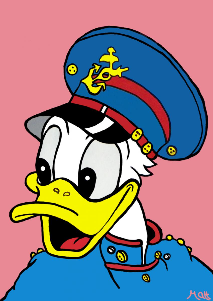 Donald Duck. Captain Donald by Matt Smith.