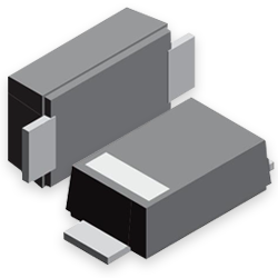 New Yorker Electronics of Northvale, New Jersey, has released the new Vishay Semiconductor VTVS5V0ASMF to VTVS63GSMF 400W TransZorb® Transient Voltage Suppressor (TVS) Diodes