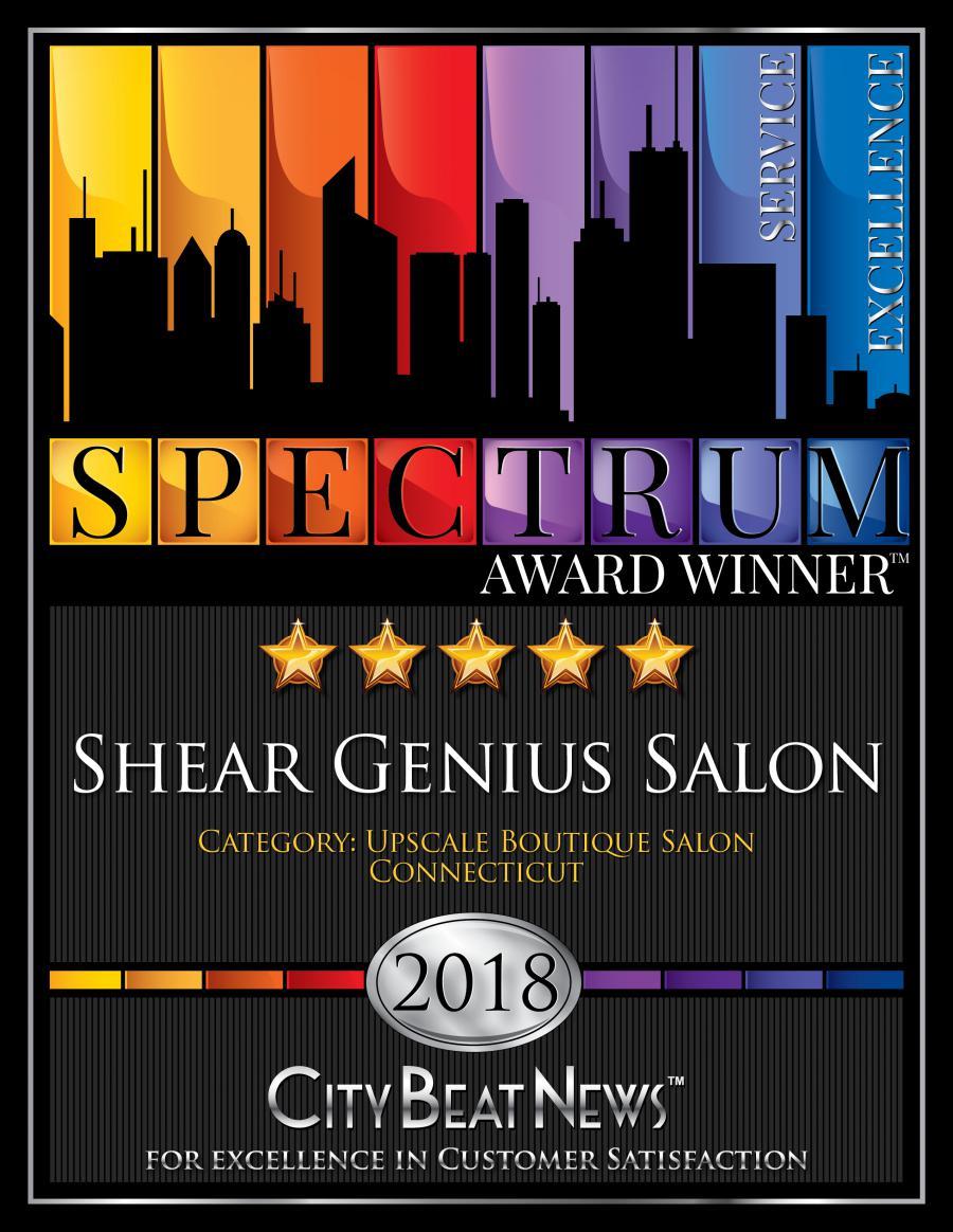 Shear Genius 2018 Spectrum Award