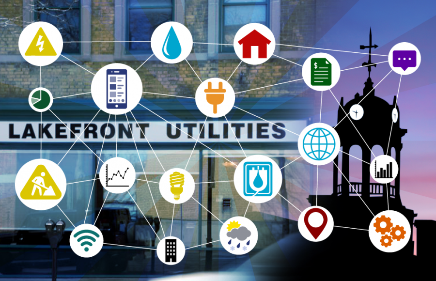 Lakefront Utility Mobile App Capability