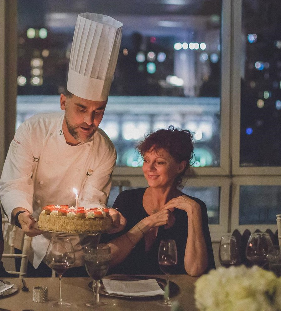 Susan Sarandon Celebrates Birthday With An Italian Dinner