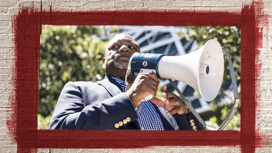 """Rev. Shaw regularly tours community leaders and groups through CCHR International's """"Psychiatry: An Industry of Death"""" museum that details the history of psychiatry's abuses, including racism dating back to the """"Father of American psychiatry,"""" Benjamin Rush"""