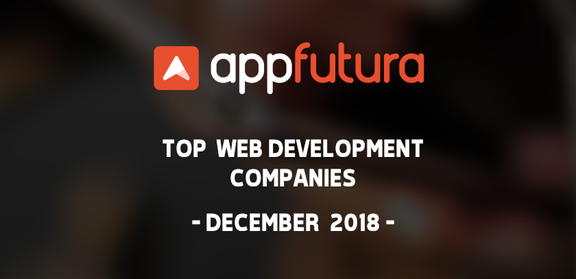 Top Web Development Companies - December 2018