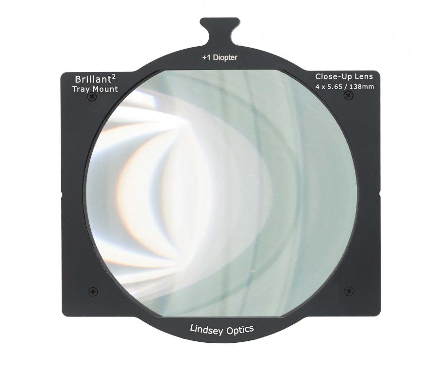 The New Lindsey Optics ONE SLOT +1 Tray Mount Diopter