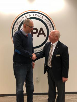 SIPA Executive Director Jack Arrowsmith & Political Advisor Zoltan Guba