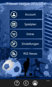 Start Screen Premier League Predictor