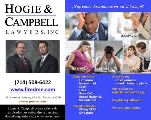 Attorneys Hogie & Campbell Employment Lawyers