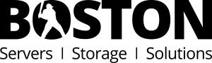 Boston Servers Storage Solutions Logo in black writing