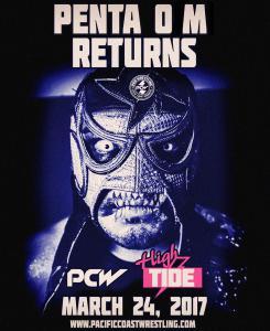 Penta 0 M Returns to Pacific Coast Wrestling