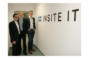 Insite IT, founders, start-up, lean construction site, RFID tags, GPS positioning, document deviation, 5-year-anniversary, Insite LMS, software, process, construction site management, material tracking,