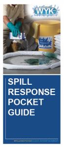 WYK Spill Response Pocket Guide